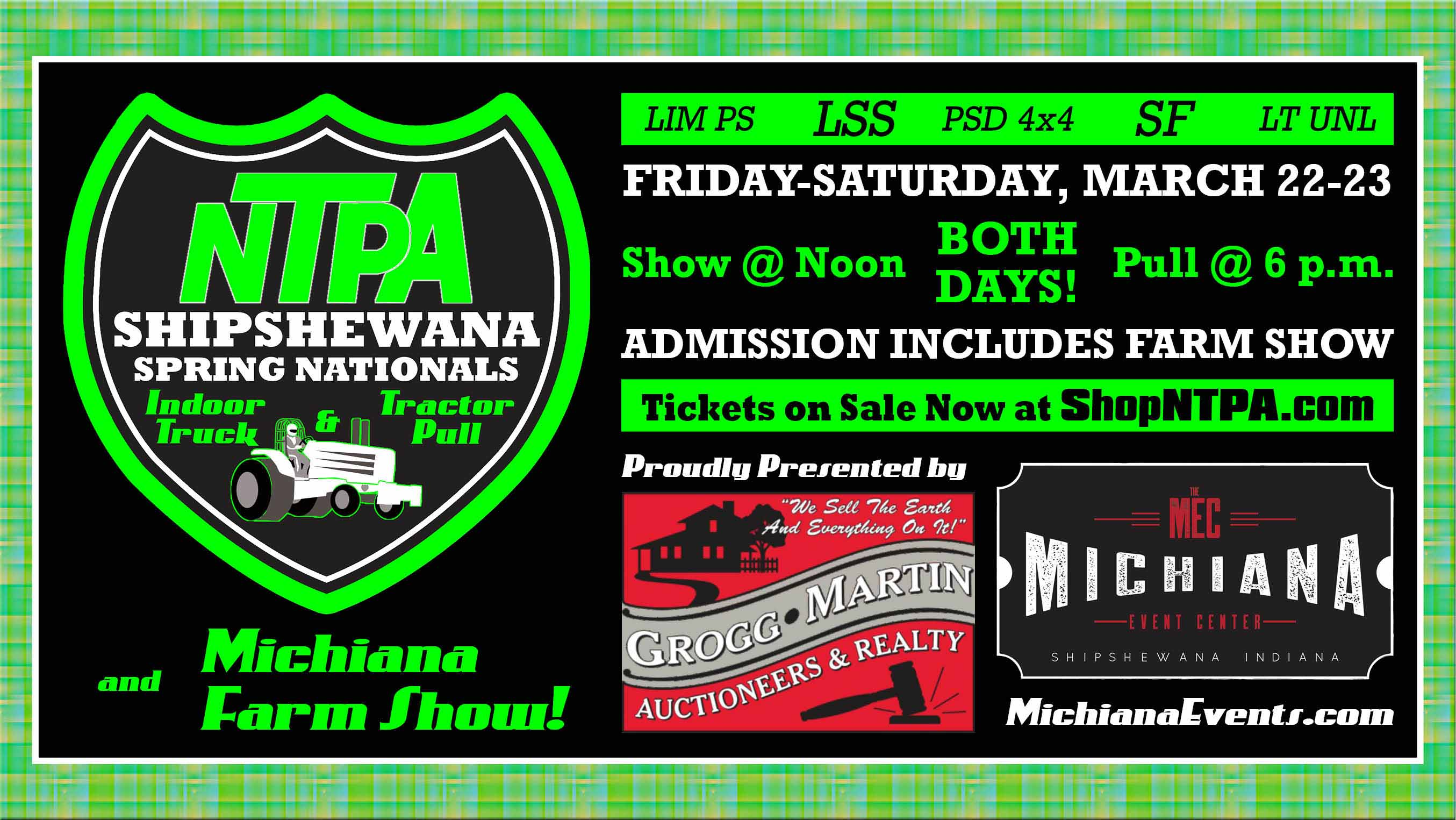 Shipshewana Nationals Banner