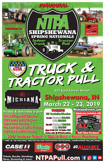 2019 Shipshewana Spring Nationals Poster