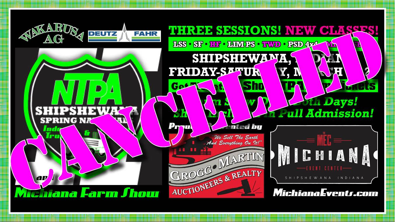 NTPAPULLcom Shipshewana cancelled