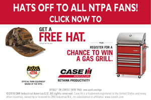 Case IH 2018 Hat & Grill Give-a-way