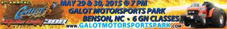 GALOT Motorsports Park Mule City 300. May 29-20, 2015.