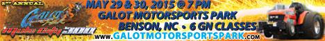GALOT Motorsports Park Mule City 300. May 29-20, 2015.